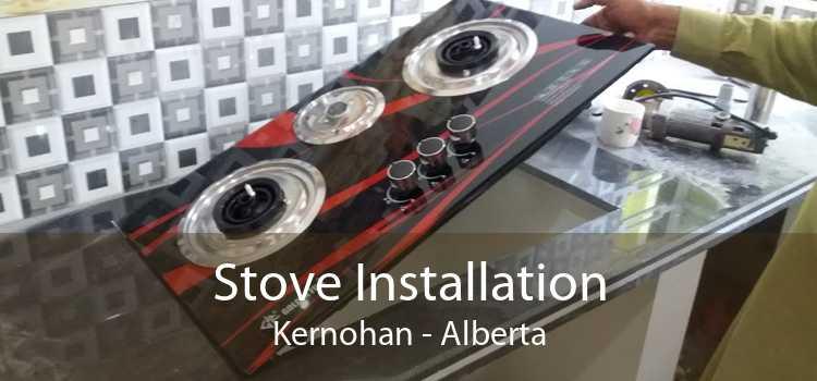 Stove Installation Kernohan - Alberta