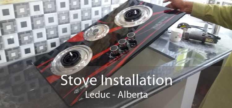 Stove Installation Leduc - Alberta
