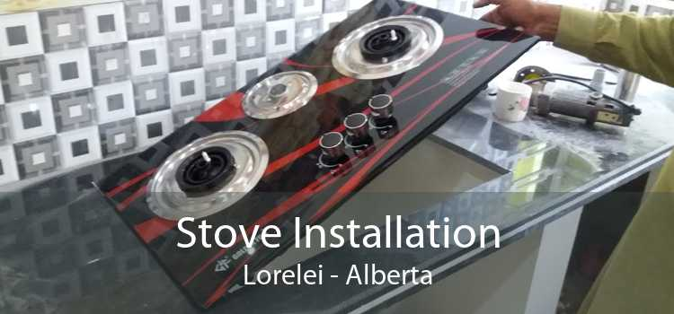 Stove Installation Lorelei - Alberta