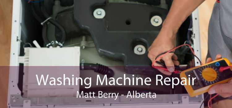 Washing Machine Repair Matt Berry - Alberta